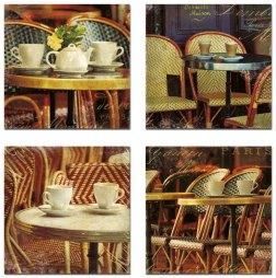 Parisian Cafe Series