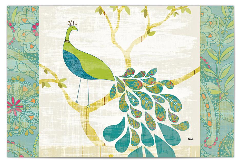 www.129twigandvine.com — Mod Peacock by Sue Schlabach