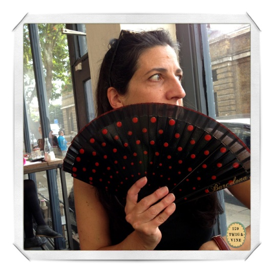© sue schlabach, 129twigandvine, sara pinto and her fabulous fan