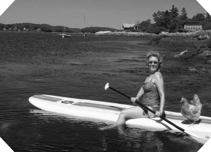 129twigandvine Wanda longboards with Tori in Maine 2015.